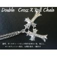 画像2: クロムハーツ ダブルクロス ネックレス 丸環取付 (2)