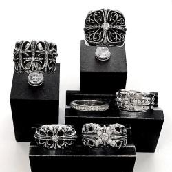 クロムハーツカスタムダイヤ 指輪のアフターダイヤも人気です!!
