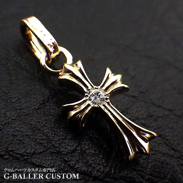 画像3: クロムハーツカスタム ベビーファット ダイヤ 金メッキ