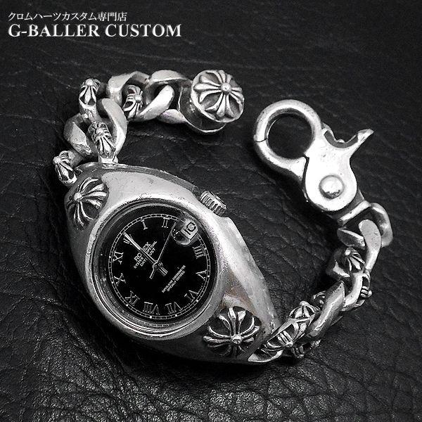 画像1: クロムハーツ ロレックス コラボ 時計 修理 ケース