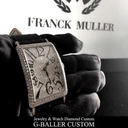 フランクミュラー ロングアイランド フルダイヤモンドはいかがでしょうか?