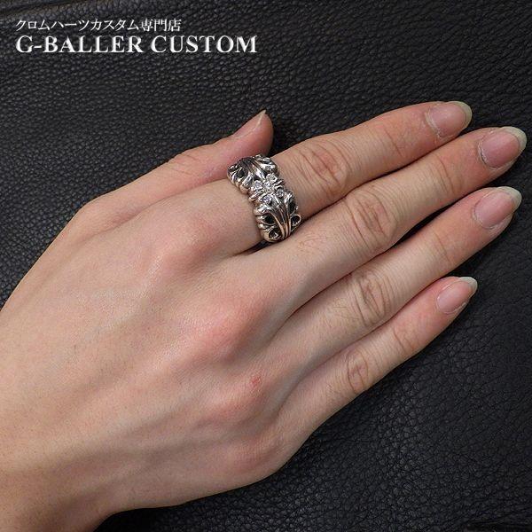 画像5: クロムハーツ K&Tリング ダイヤ カスタム