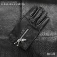 画像3: クロムハーツ修理 手袋 レザーグローブ ファスナー (3)