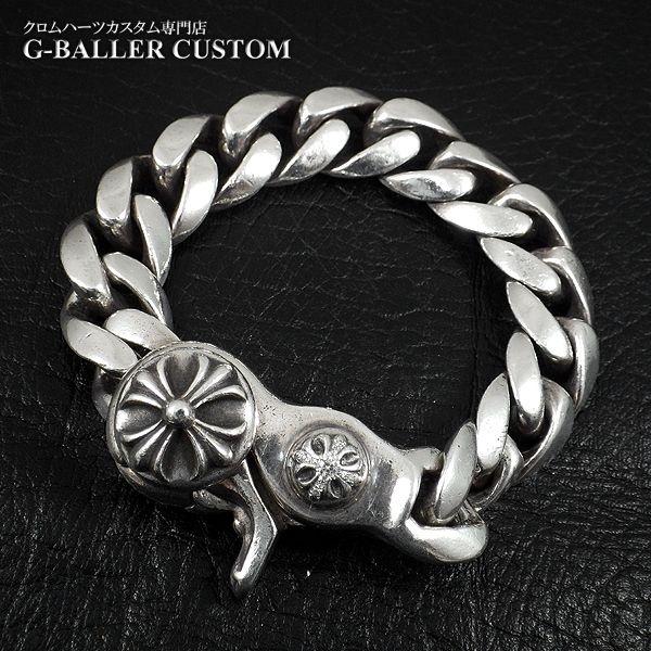 画像1: クロムハーツブレスレットダイヤ クラシックチェーン
