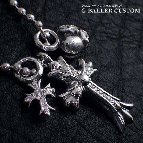 画像3: クロムハーツカスタム ダブルクロス&スタック ダイヤモンド
