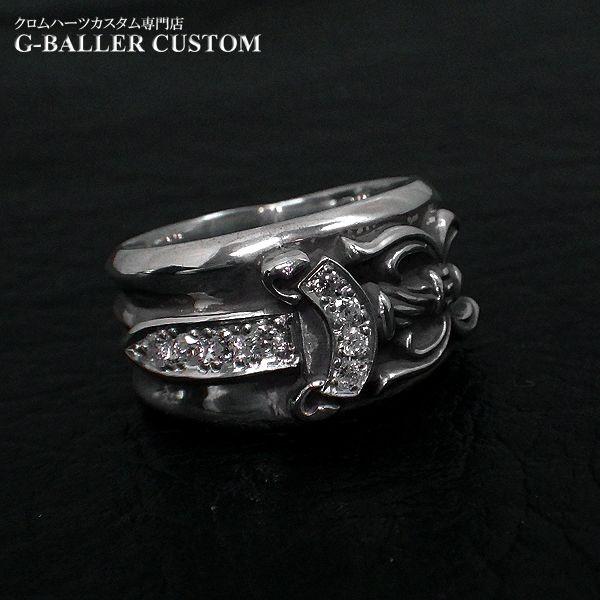 画像2: クロムハーツ ダガーリング ダイヤ カスタム