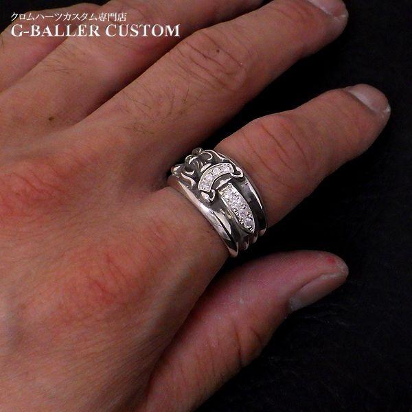 画像4: クロムハーツ ダガーリング ダイヤ カスタム