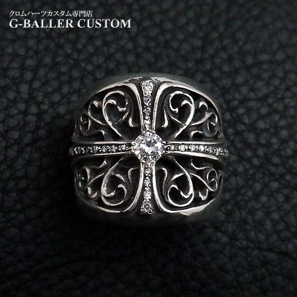 画像2: クロムハーツ オーバルクロス ダイヤ カスタム