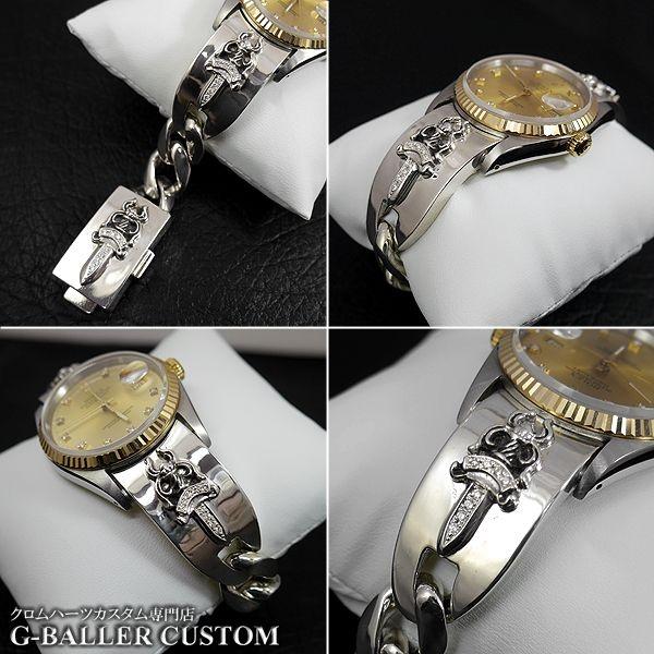 画像4: クロムハーツ ロレックス 時計 ウォッチバンド ダイヤ