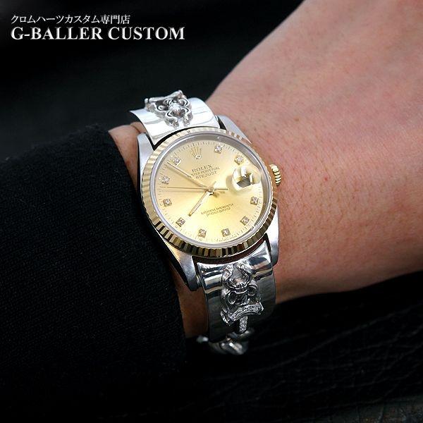 画像3: クロムハーツ ロレックス 時計 ウォッチバンド ダイヤ