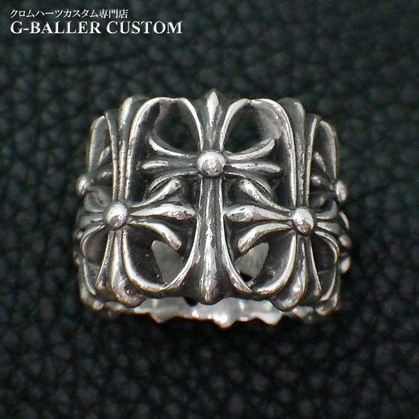 画像5: クロムハーツ セメタリークロスリング ダイヤ カスタム